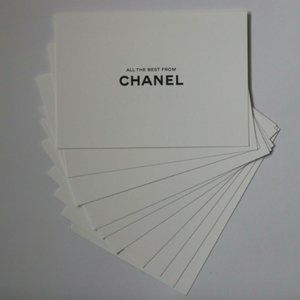 10 Chanel White Cards All The Best